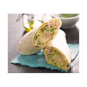 Wrap au thon et mayo